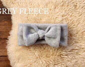 fleece bowfleece headwrapfleece ear warmerfleece bow headwrapbaby ear warmerfleece baby headwrap