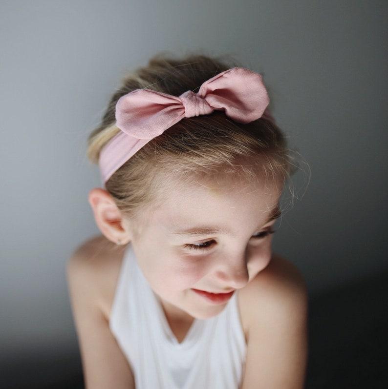 sunflowers /& chickens top knot head wrapbaby headbandsknit headbandstoddler headbandsbaby girl bownewborn headband