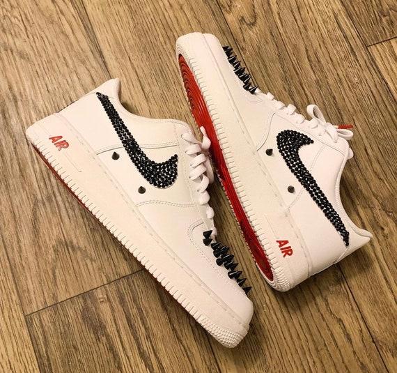 Nike Dark Diamond Louboutin Air Force