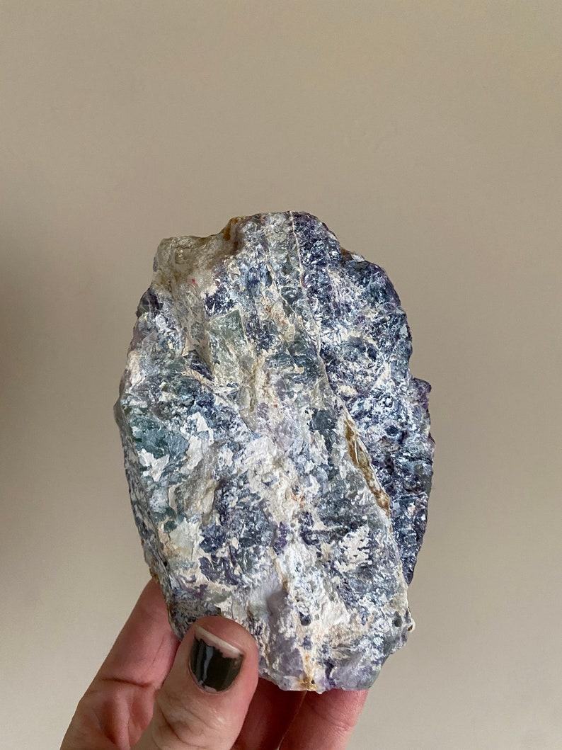 Raw Rainbow Fluorite Raw Fluorite Chunk