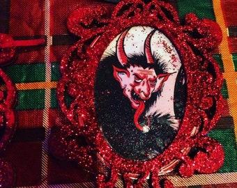 Handmade Krampus Hoilday Ornament