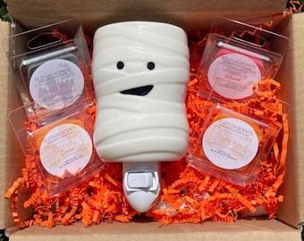 Halloween Box | FALL | Wax Melts | Mummy Plug in Warmer