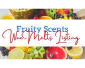 Fruity Scents Strong Scented Wax Melts Gift Ideas Spring