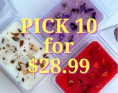 STRONG SCENTED Wax Melts PICK 10 Gift Spring