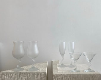 Assorted Z Cocktail and Champagne Glasses