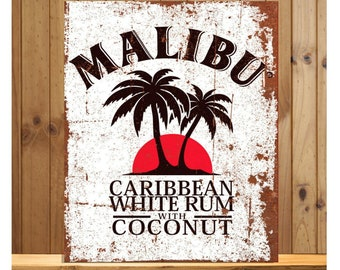 bar 2 Sizes Available ideal for pub Bacardi Man Cave White Rum METAL SIGN