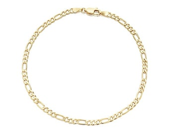 14k Gold filled Figaro  Anklet for women adjustable to any size