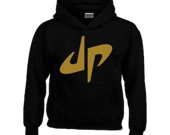 Dude Perfect Kids Hoodie Boy Girl Hooded Sweatshirt Top Youths Youtuber Hoody