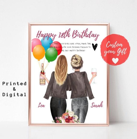 Freundin geschenk 18 geburtstag für Geburtstagsgeschenke
