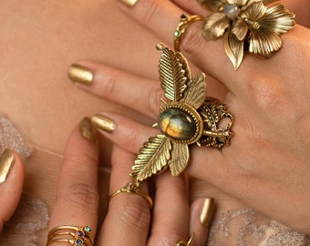 Dreamtime Dragonfly Ring