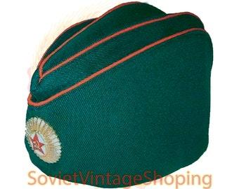 Vintage USSR 1989 Soviet silk Pioneer Hat Pilotka