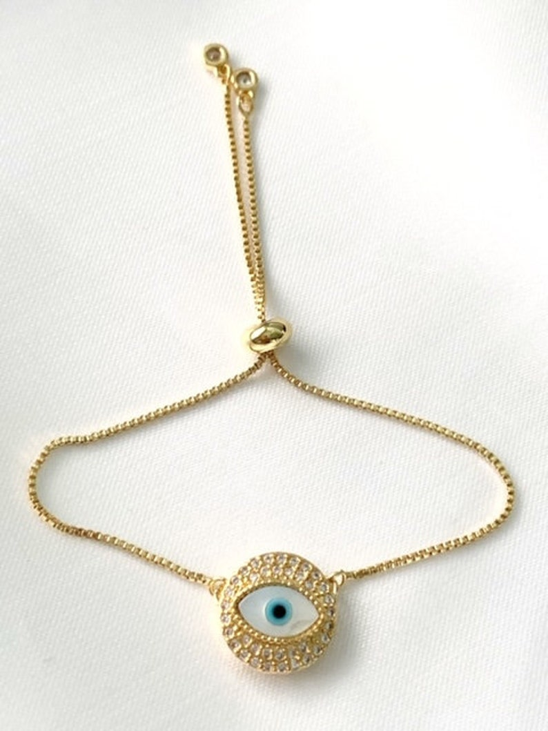protection bracelet Evil eye charm Mother of pearl evil eye bracelet mal de ojo ojo turco greek jewelry third eye Turkish jewelry