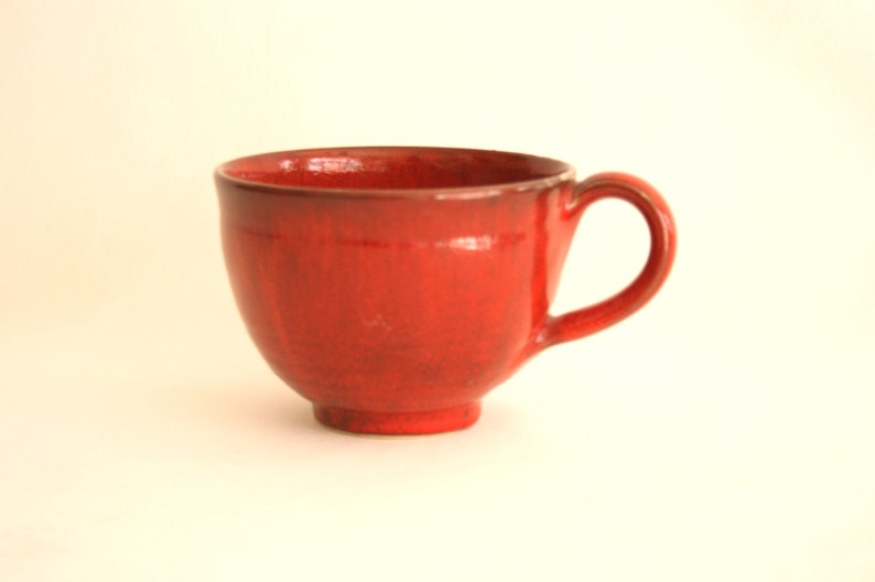Jumbo cup in red 400ml image 0