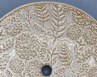 FLORA VINTAGE ceramic soap dish
