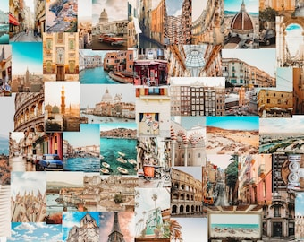 Travel Collage Etsy