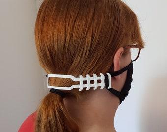 Face mask holder / ear protector / face mask extender