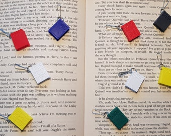 Book keychain