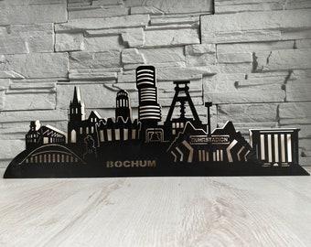 Black Edition Skyline Bochum! Schwibbogen Arc