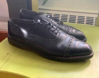 Original Vintage 1990/'s 90/'s Men/'s Johnston /& Murphy Two Tone Spectators Dress Shoes Jazz Party Shoes Art Deco Shoes Gatsby Shoes Retro Men