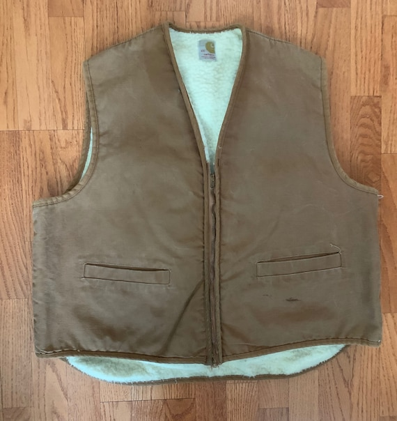 60s Carhartt Fleece Lined Vest