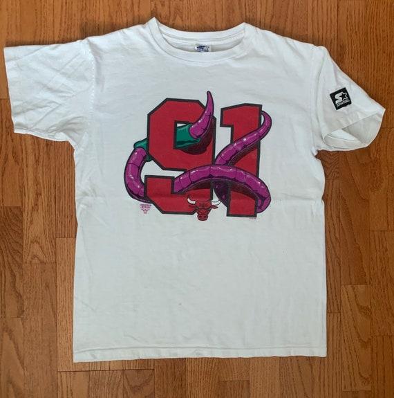 Dennis Rodman #91 The Worm Starter T-Shirt