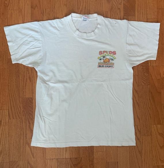 1986 Spuds MacKenzie Bud Light Promo Shirt