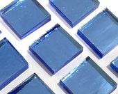 Mosaic Mirror Tiles Blue Moon Spectrum SilverCoats Stained Glass M2