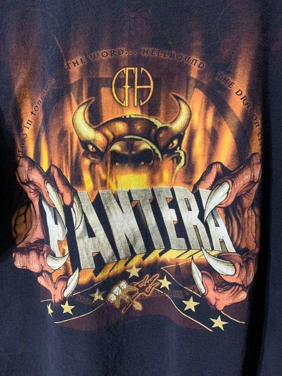 00s Vintage Pantera band T-shirt