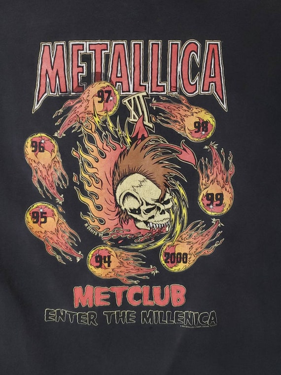 00 Metallica Tour T-shirt