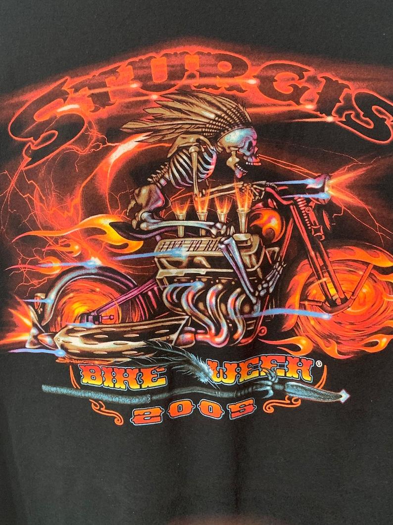 Vintage Sturgis Bike Week 00s long sleeves Shirt Size XXL