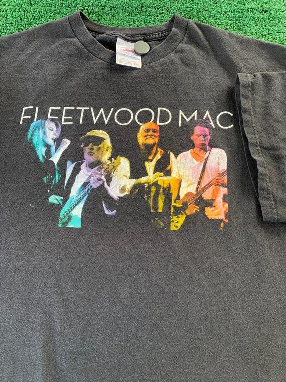 Vintage Fleetwood Mac Tour Concert T-shirt Size XX