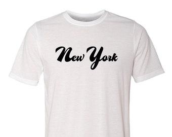 New York Script Shirt