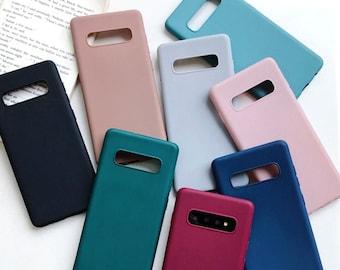 Matte Samsung Galaxy Phone Case for s10 s8 s9 s10e s10 Plus s20 Ultra Note 10 Plus