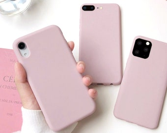 Blank and Pink Creative whimsy iPhone case Silicone iPhone case soft iPhone case 12 Pro1111 pro11 pro Max8p7pXXSXRXsXs Max
