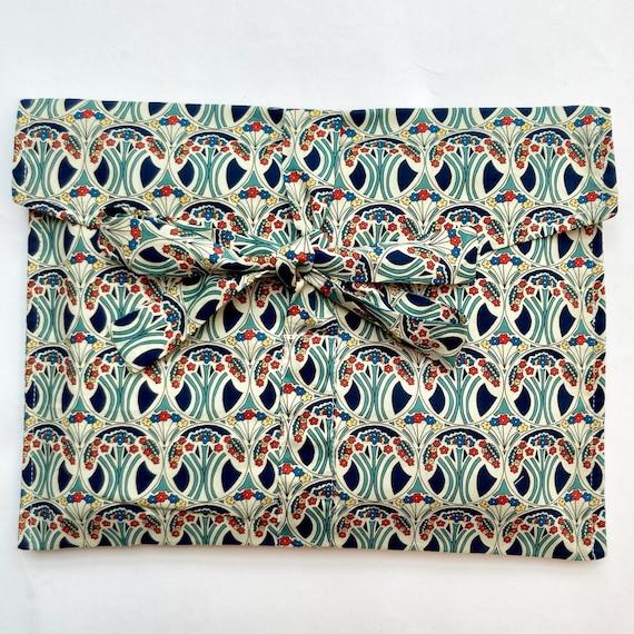 Christmas Liberty Cotton Gift bags, 100% Oeko Tex lining