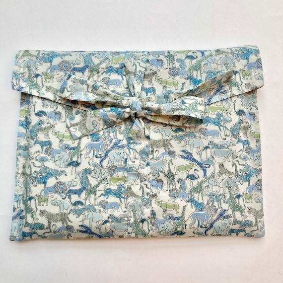 Liberty Safari Print Fabric Gift Bag with Oeko Tex lining
