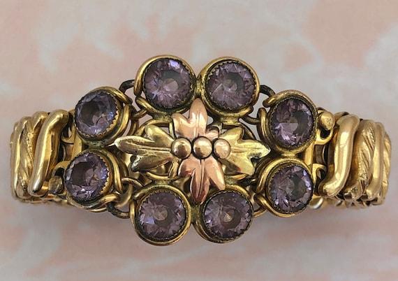 Early 20th Century Carmen Expansion Bracelet