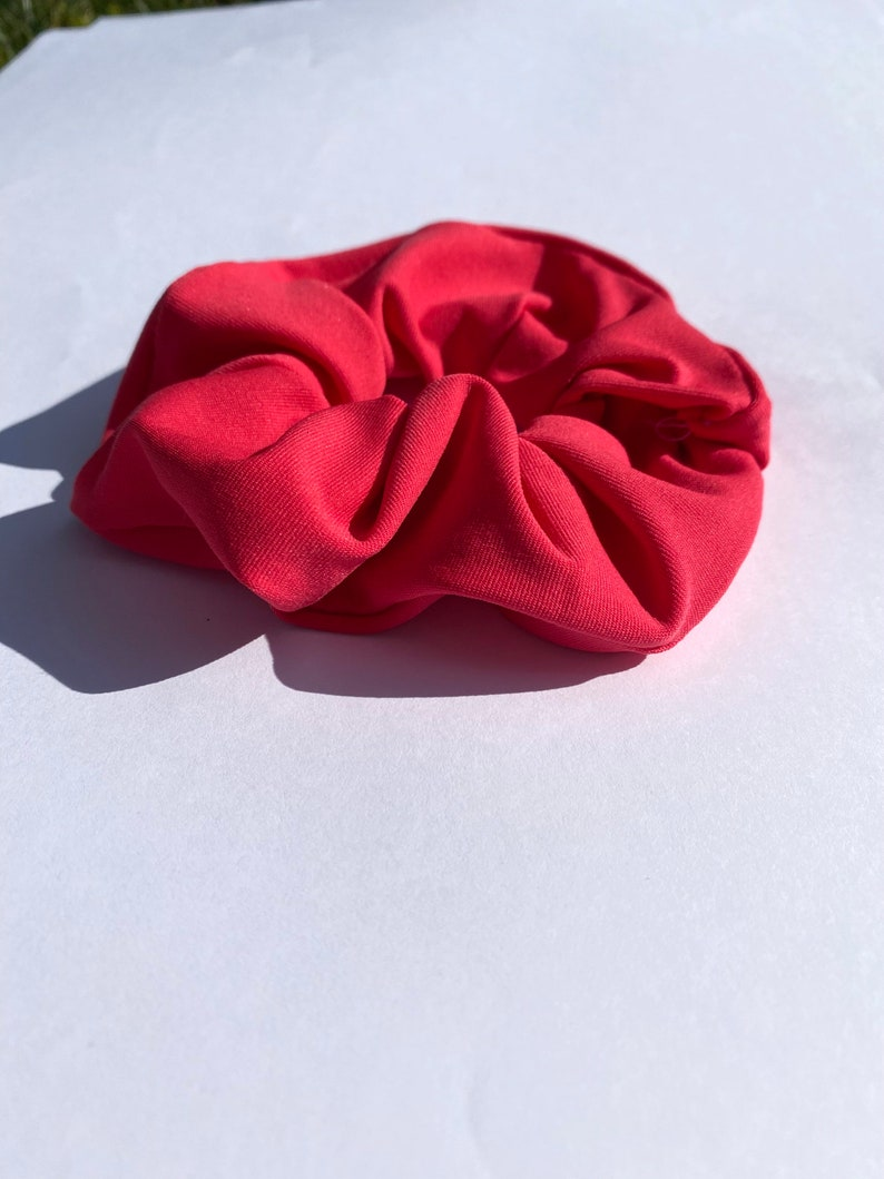 Hot Pink Waterproof Scrunchie