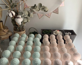 Cake Pops Party Order (Custom Flavors & Date Request For Wedding/Birthday/Event/Party Please Contact Before Place Order)