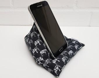 Mobile phone beanbag / pyramid pillow / mobile phone pillow (elephants)