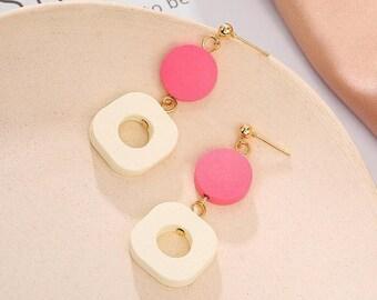 Long Dangles, Geometric Earrings, Statement Earrings