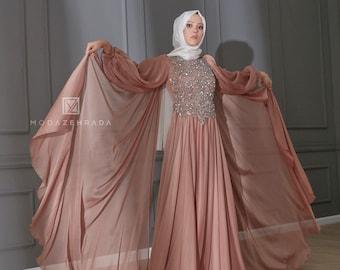 Muslim Wedding Dress Etsy