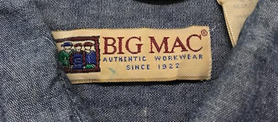 Vintage Big Mac Authentic Workwear