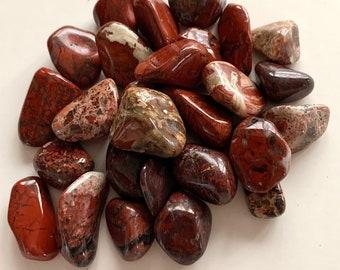 "Tumbled Brecciated Jasper — 1 Stone, Grade ""A"""