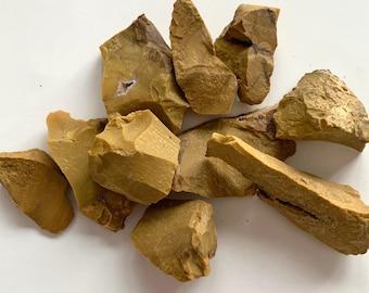 "Rough Yellow Jasper — 1 Stone, Grade ""A"""