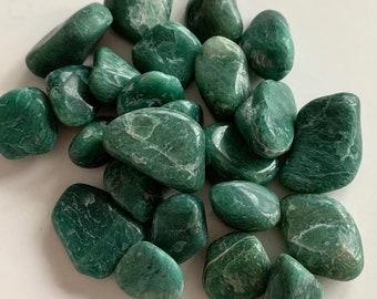 "Tumbled Green Jade — 1 Stone, Grade ""A"""