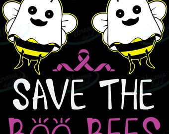 Boo Bees Svg Etsy