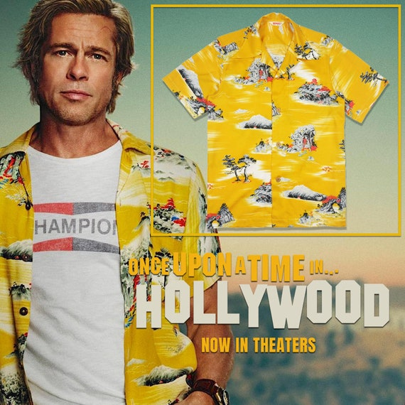 Cliff Booth Once Upon A Time In Hollywood Hawaiian Shirt