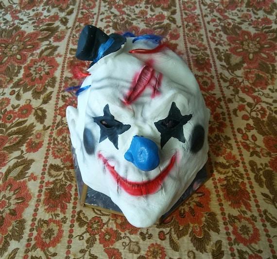 Evil Clown Costume Mask