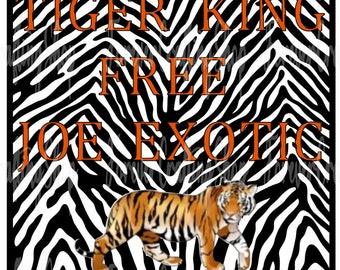 Quarantine Time Tiger Face Image Watching Tiger King Svg 4 Etsy